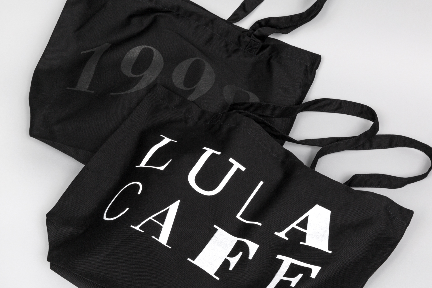 Lula Cafe Chicago bag design.