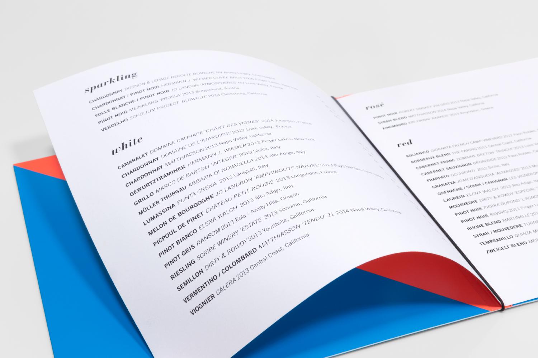 Lula Cafe branding and drink menu design.