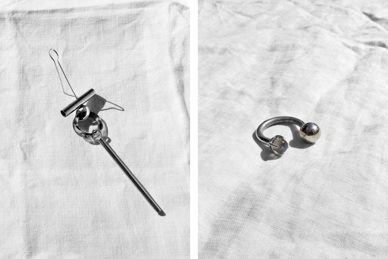Shikama jewelry branding and graphic design.