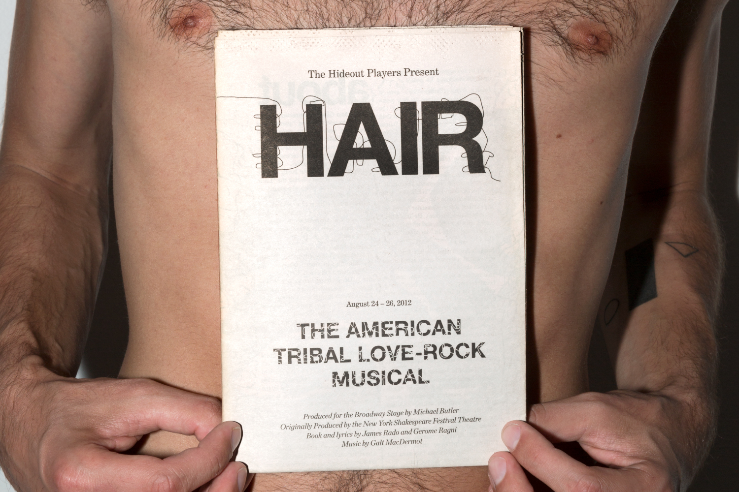 Hair musical program design.