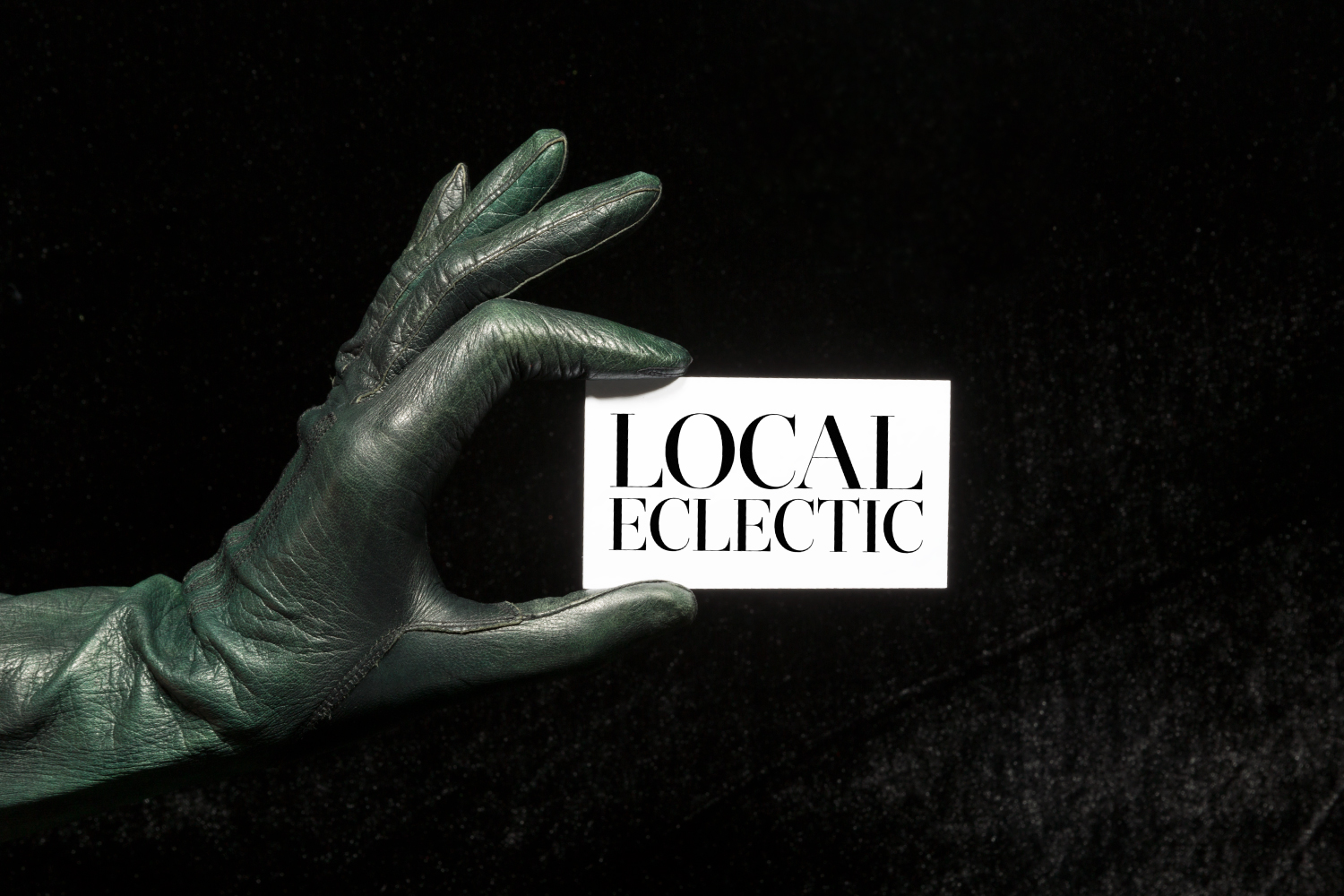 Local Eclectic online brand design.
