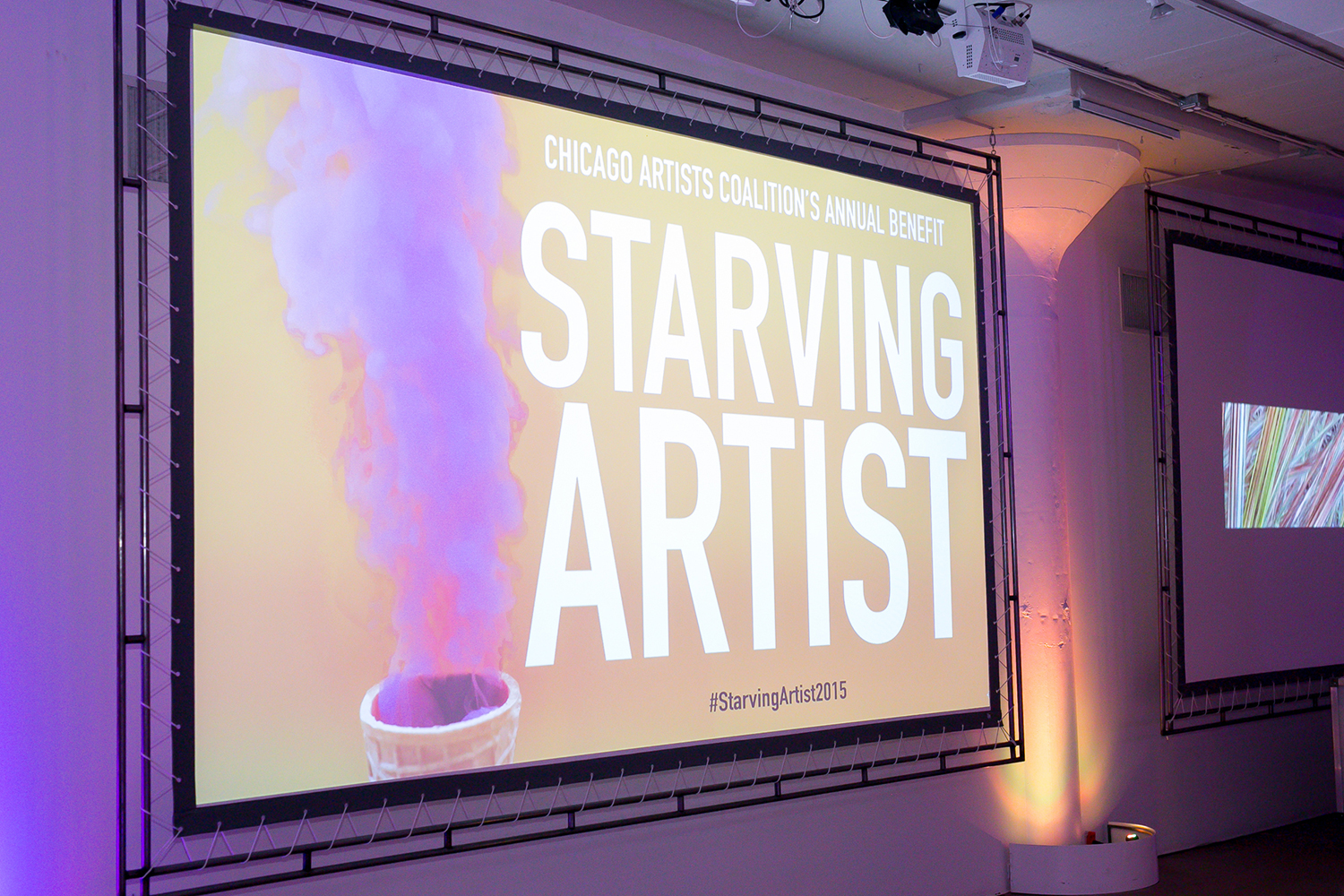 Starving Artist Chicago branding and graphic design.