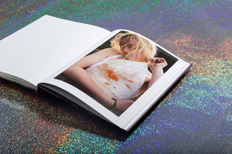 Olivia Bee: Kids In Love book design.