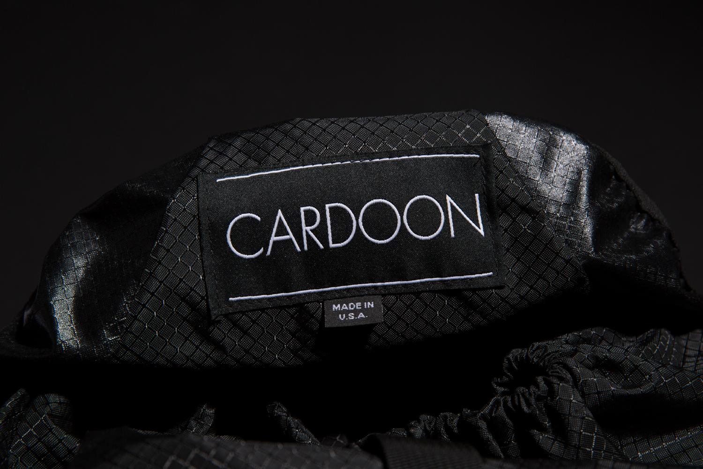 Cardoon label design and branding.